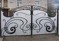 Ворота профнастил