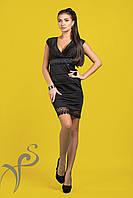 Вечернее платье София черное