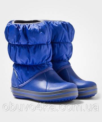 Cапоги CROCS winter Kids Puff Boot  размер С9, фото 2