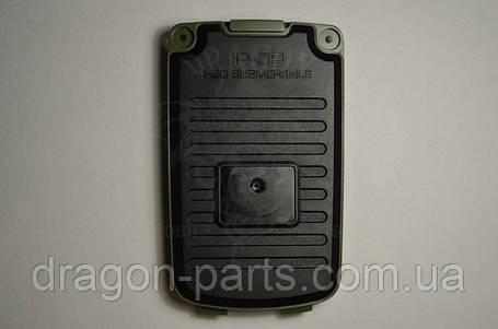 Задняя крышка  Nomi i242 X-treme зеленая, оригинал, фото 2