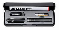 """Набор подарочный мужской Нож Maglite-Set + Фонарик Maglite-Solitare LED в футляре """"Victorinox"""""""