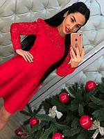 Женское стильное платье из кружева (2 цвета), фото 1