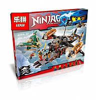 Конструктор Ниндзяго - Lepin Ninjag 06028 Цитадель несчастий, большой набор.