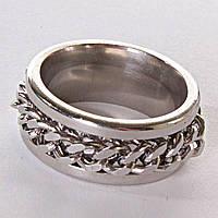 [17,18,19,20] Мужское кольцо обручальное  цепь 19