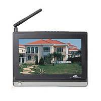 Приёмник беспроводных камер стандарта 2.4 Ghz с 7-ми дюймовым LCD экраном и поддержкой 4 каналов (мод ST-724)