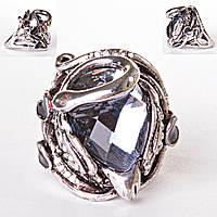 [17,18,19,20] Перстень кристалл Лебедь 17