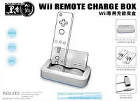 Зарядная станция для джойстиков Nintendo Wii,Wii remote charge box