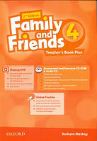 Family and Friends 4 Second Edition - Teacher's Book Plus Pack