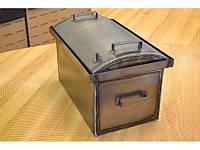 """Коптильня для горячего копчения крышка """"Овал"""" 1,5 мм (510х320х330)"""