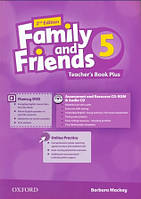 Книга учителя к Family and Friends 5 Second Edition - Teacher's Book Plus Pack