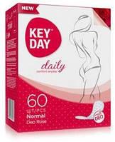 Женские повседневные прокладки KEY DAY Normal Camomile Deo 60