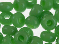 Чешский бисер 5 грамм  53230 Preciosa зеленый