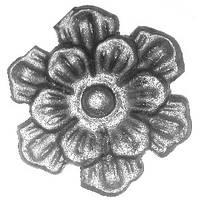 Цветок - литой элемент 6163