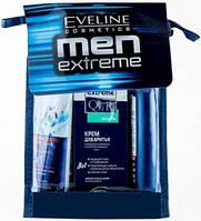 Набор Men Extreme SENSETIVE (гель для душа + бальзам после бритья + крем для бритья) Eveline