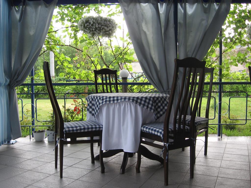 Летняя терасса ресторана GEORGIA 1