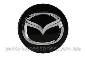 Mazda 6 2014-17 колпачок в диск черный Новый Оригинал