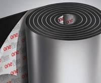 Шумоизоляция OneFlex AF FKY самоклеющийся на фольге, вспененный каучук, 9 мм