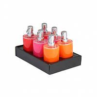 """Дозатор для жидкого мыла Axentia """"Graz"""" orange/pink/rot"""