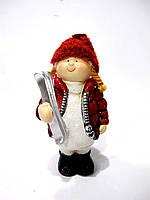 Декоративная статуэтка Девочка с лыжами