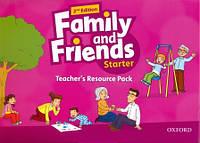 Папка для учителя с доп материалами к Family and Friends Starter Second Edition - Teacher´s Resource Pack
