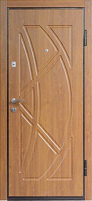 """Входная металлическая дверь """"Золотой орех"""", Престиж 907"""