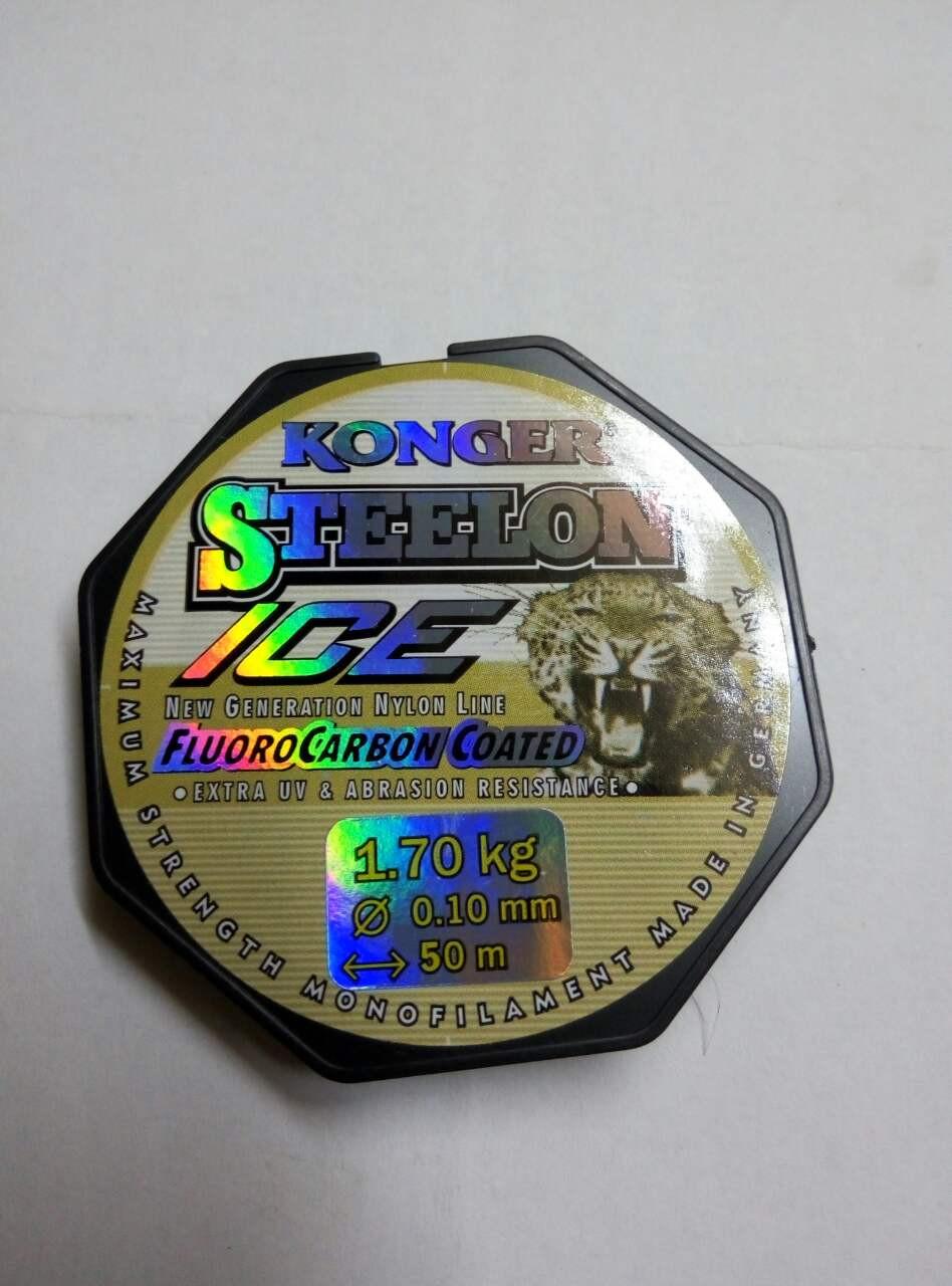 Леска Konger Steelon (флюорокарбон) 50метров 0.10