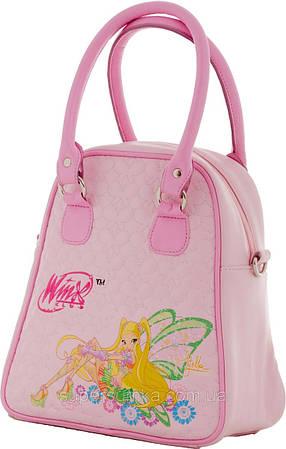 Небольшая детская сумка на двух ручках Winx, Винкс 551619 розовая