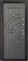 """Входная металлическая дверь """"Золотистый венге"""", Престиж 908"""