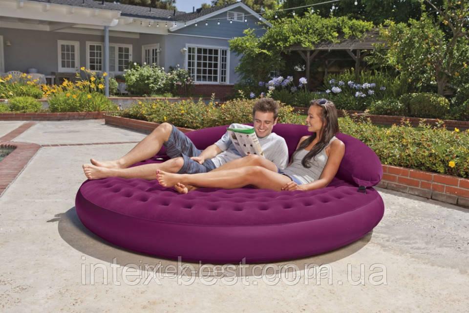 Intex 68881 - надувная кровать Ultra Daybed Lounge 191x53см