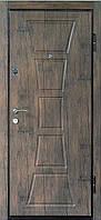 """Входная металлическая дверь """"Тропическое дерево"""", Престиж 911"""