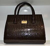 Женская модная коричневая сумка
