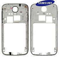 Средняя часть корпуса для Samsung Galaxy S4 i9500 / i9505, черная, оригинал