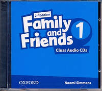 Аудио диски к Family and Friends 1 Second Edition - Class Audio CDs (2 шт.)