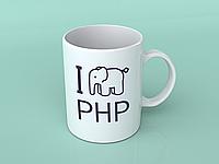 Чашка с логотипом PHP