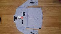Рубашка для мальчика с длинным рукавом,в полоску Турция 140-176 WAX-MEN