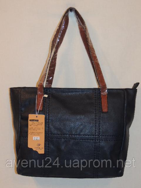 Красивая женская сумка из эко-кожи (Италия), фото 1