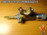 Кран газовый для плиты Гефест из предохранительным клапаном, фото 1