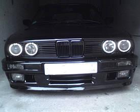 CCFL Ангельские глазки на BMW E30, E32, E34 Белые