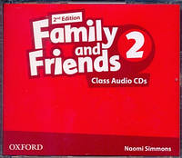 Аудио диски к Family and Friends 2 Second Edition - Class Audio CDs (3 шт.)