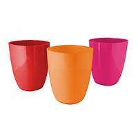 """Ведро для мусора """"Graz"""" orange/pink/rot"""