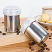 Трафареты для кофе( 16 шт. ) + Ёмкость для какао/корицы/шоколада/др. с ситом (шейкер), фото 2