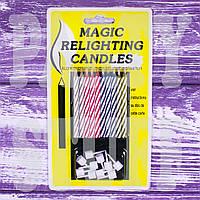 Магические свечи для торта, 10 шт, фото 1