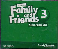 Аудио диски к Family and Friends 3 Second Edition - Class Audio CDs (3 шт.)