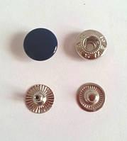 Кнопка №54 - 12,5 мм эмаль № 569 темно-синяя