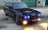 CCFL Ангельские глазки на BMW E30, E32, E34 Синие