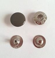 Кнопка №54 - 12,5 мм эмаль № 301 коричневая