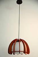 2992/1 Люстра деревянная SVLIGHT одноламповая Е27 60 Вт 1,4 кг