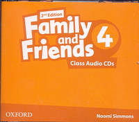 Аудио диски к Family and Friends 4 Second Edition - Class Audio CDs (3 шт.)