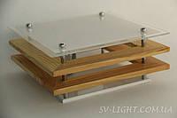 3501/1 Деревянное бра SVLIGHT одноламповое E27 40Вт 900г