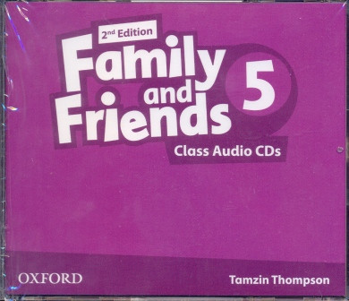 Family and Friends 5 Second Edition - Class Audio CDs (3 шт.)